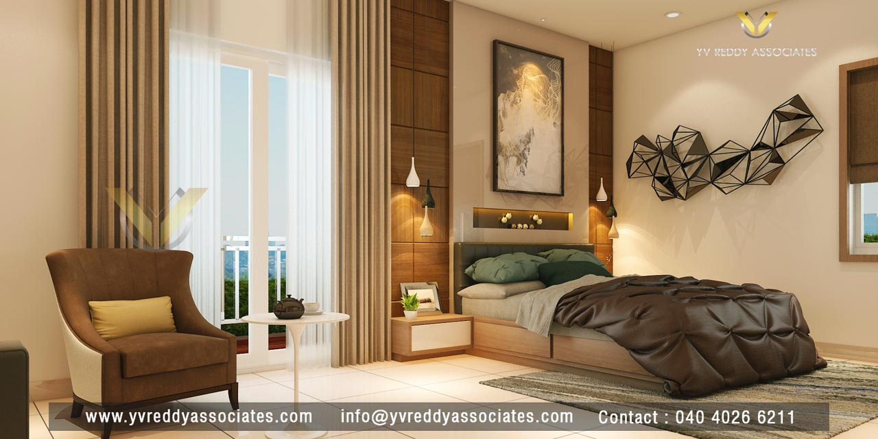 Rajapushpa Atria Apartment Interiors