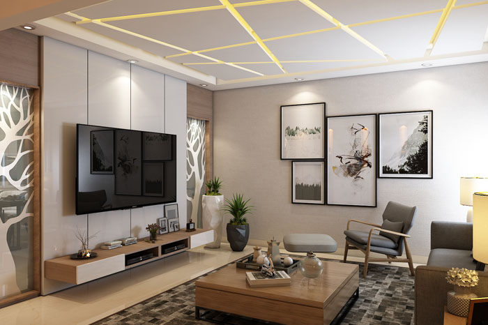 NCC Urban One Luxury Apartments Interior Designs