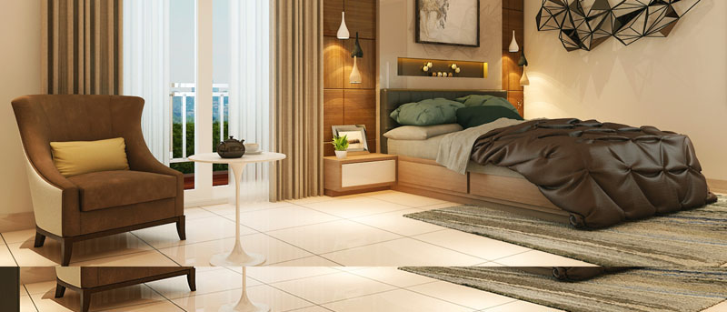 Rajapushpa Atria Apartment Interior Design