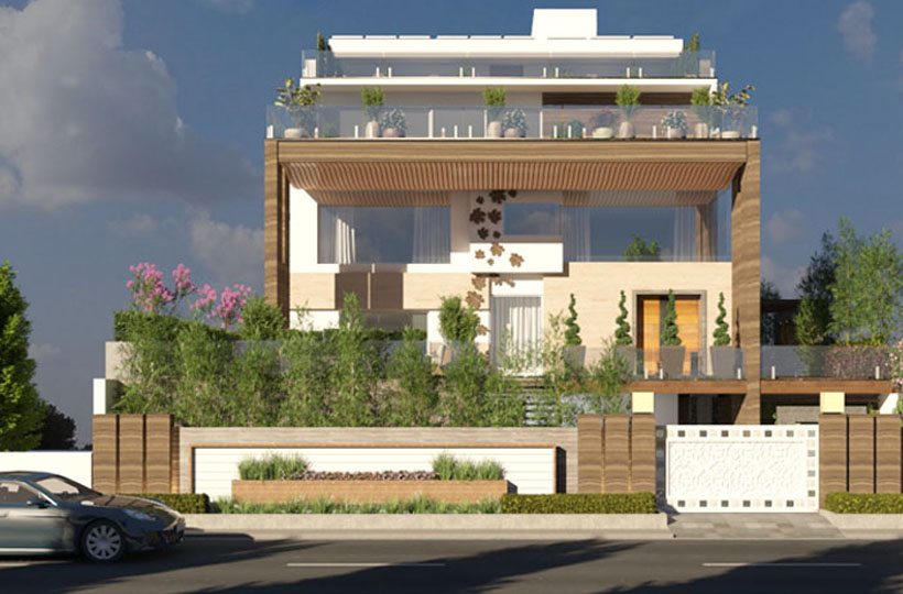 Contemporary Style and Modular architectural designs