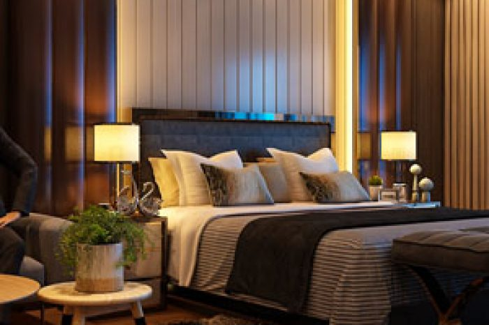 DSR The First Luxury Apartments Interiors